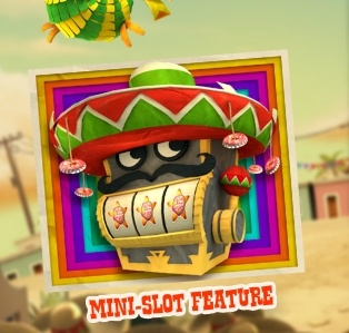Spinata Grande mini slot feature