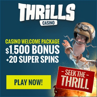 Thrills 20 free super spins