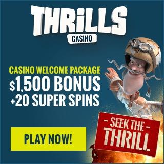 Thrills 20 wager free super spins