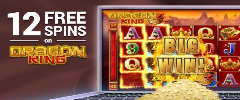 dragon king free spins emu casino
