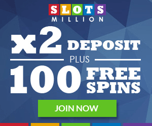 slots million 100 free spins