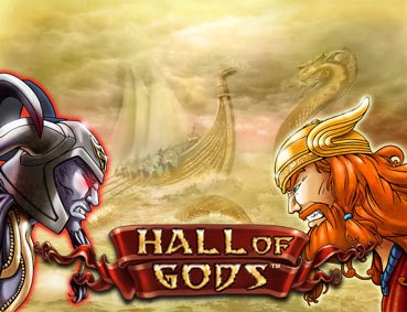 hall of gods progressive pokie Netent