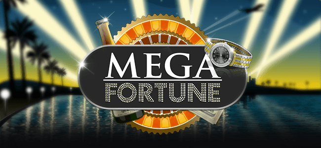 mega fortune progressive pokie