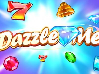 Dazzle Me netent online pokie logo