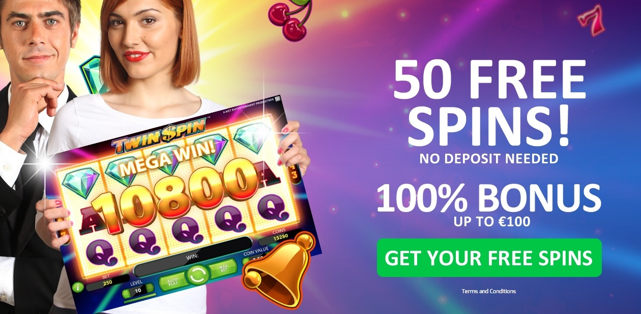 50 free spins on twin spin no deposit needed