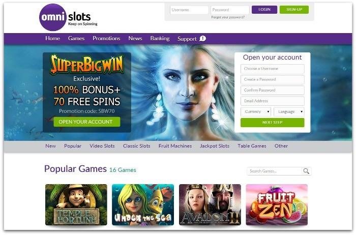 Omni slots review