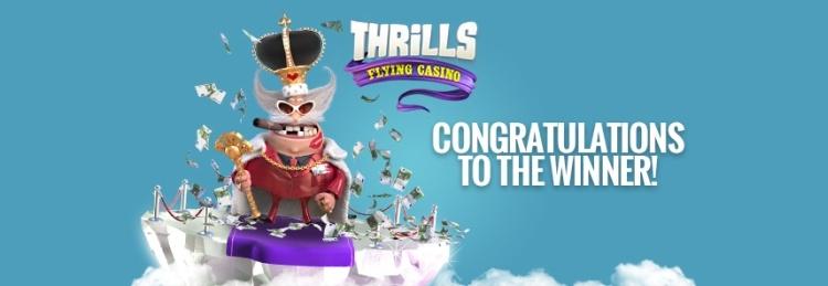 Big winner Thrills