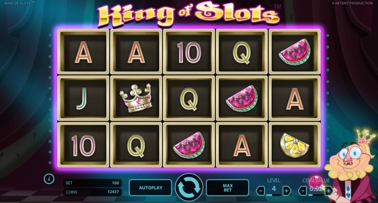 King of slots pokie review