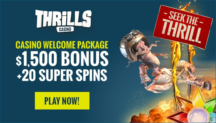 Thrills casino new design