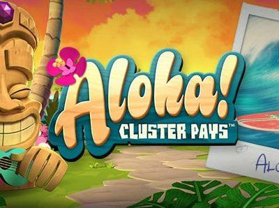Aloha pokie review netent