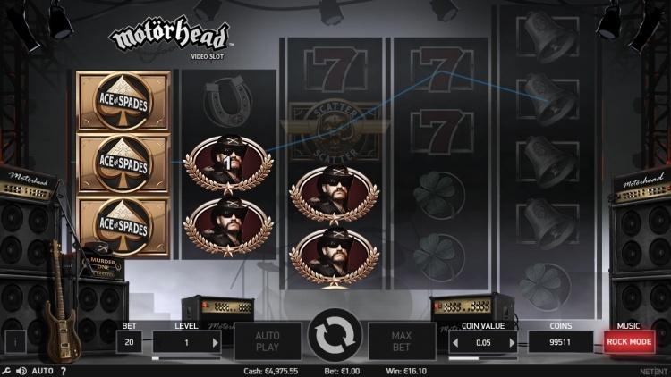 Motorhead gokkast review netent