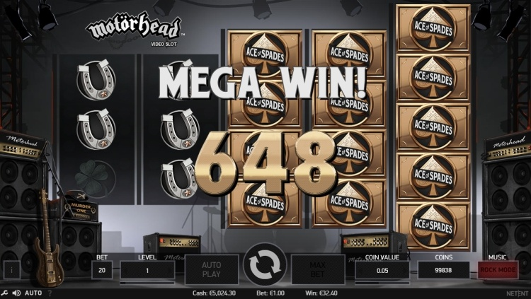 Motorhead pokie review