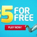 lucky-dino-5-dollar-no-deposit-bonus