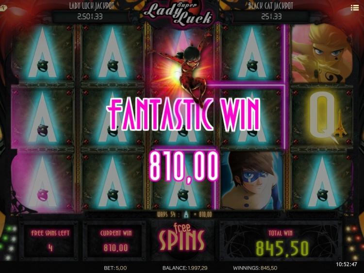 Super Lady Luck isoftbet free spins bonus