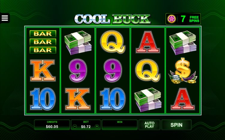 Cool buck pokie microgaming review