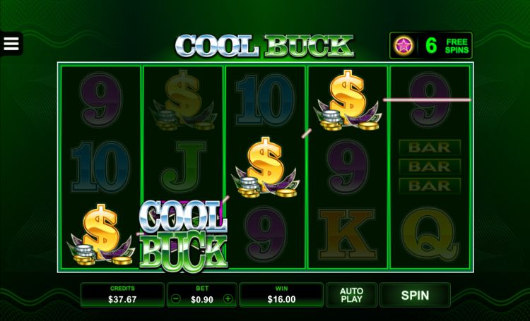 Cool buck pokie microgaming