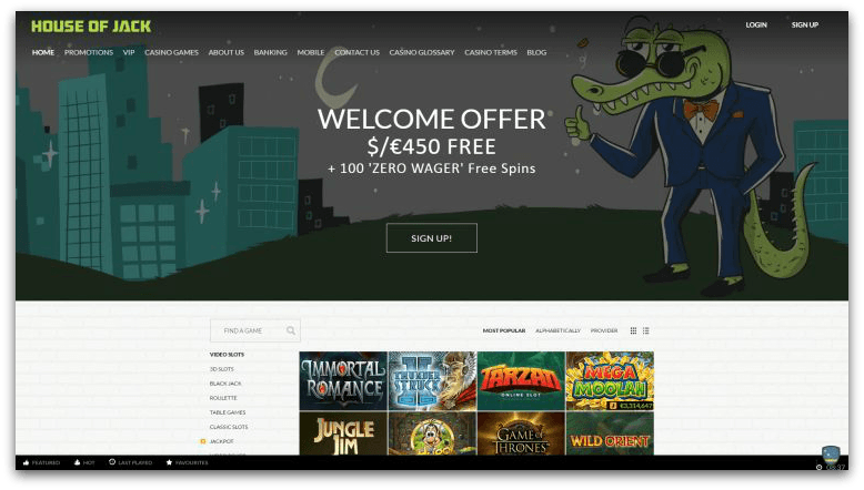 House of Jack new casino for australian players