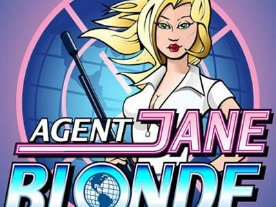 Agent Jane Blonde pokie microgaming