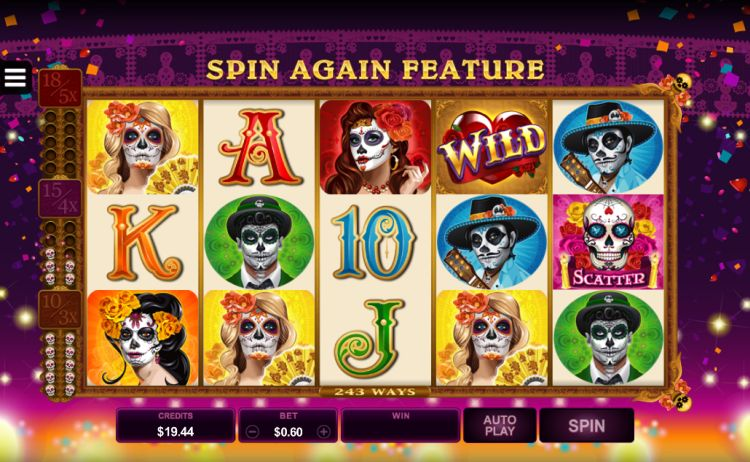 Beautiful Bones pokie microgaming review