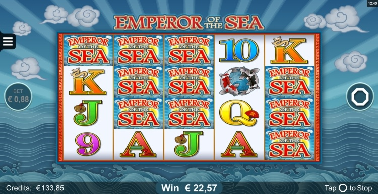 Emperor of the Sea microgaming big win