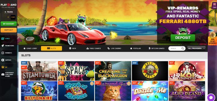 Playamo casino review