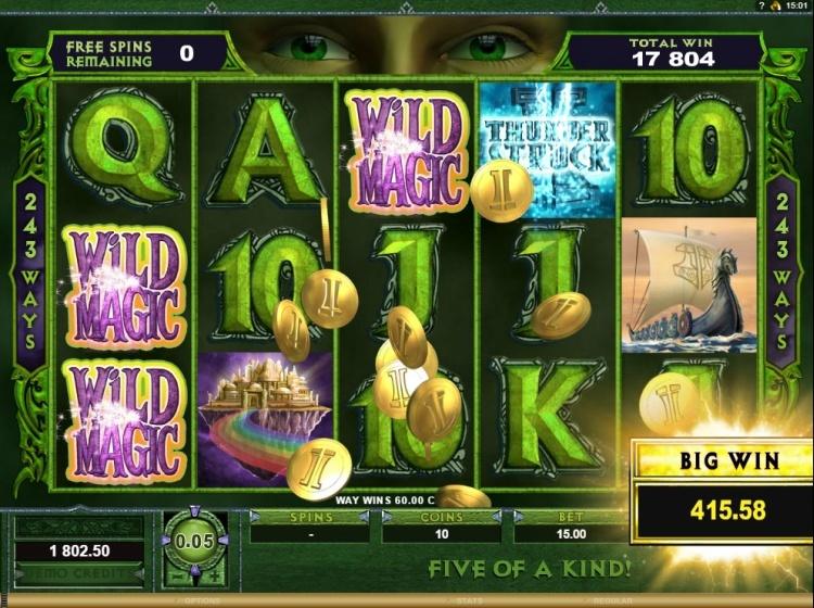 Thunderstruck II bonus round