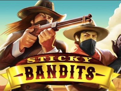 Sticky Bandits pokie quickspin