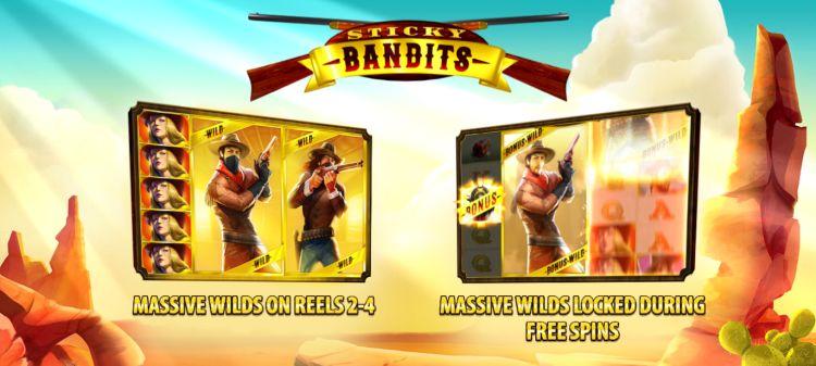 Sticky Bandits quickspin