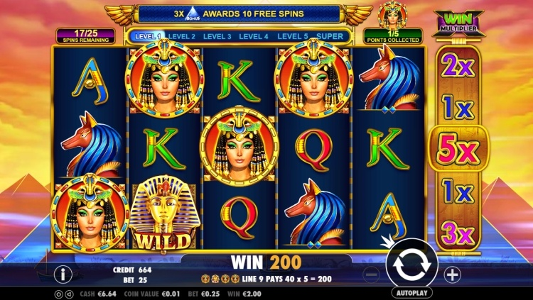 Queen of gold pokie