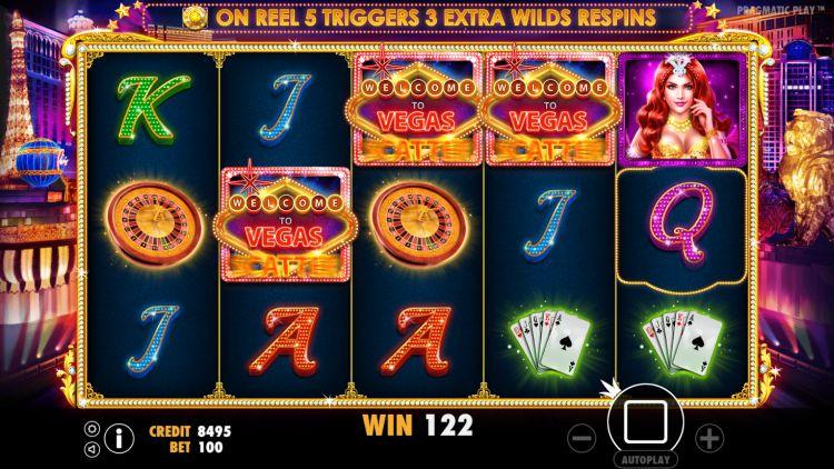 Vegas Nights pragmatic Play bonus trigger
