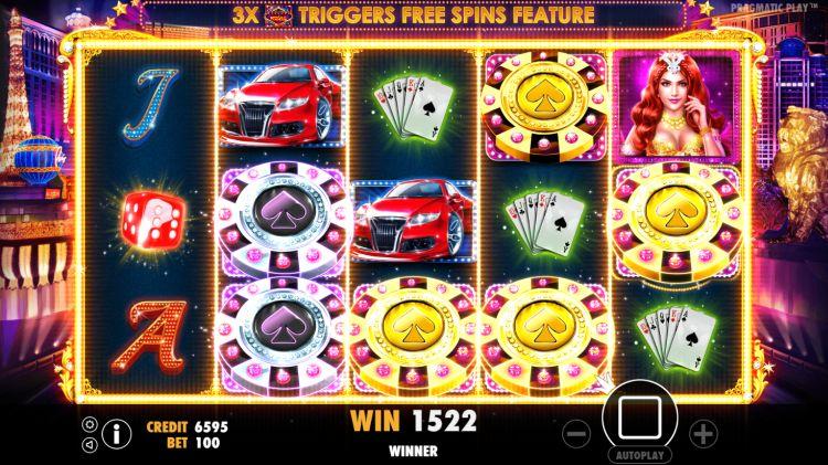 Vegas Nights pokie