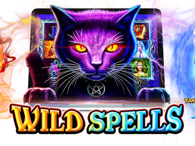 Wild Spells pokie logo