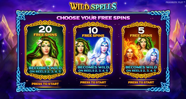 Wild Spells pragmatic play slot