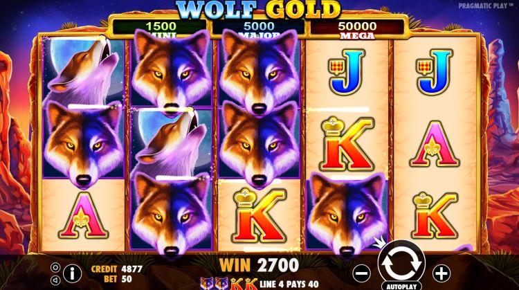 Wolf Gold pokie sensational win