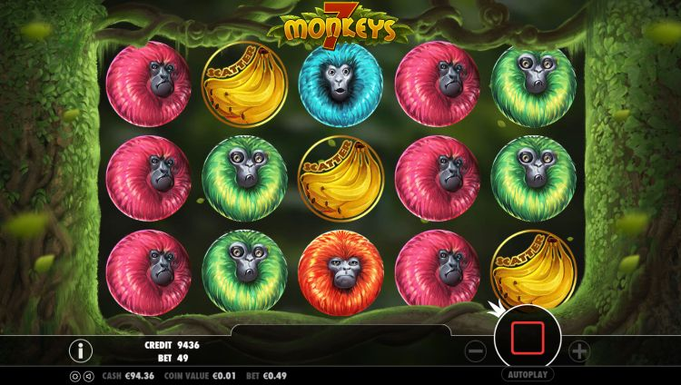 7 monkeys pragmatic play