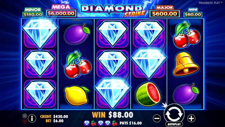 Diamond Strike pokie