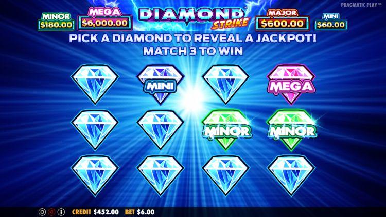 Diamond Strike Pragmatic Play bonus