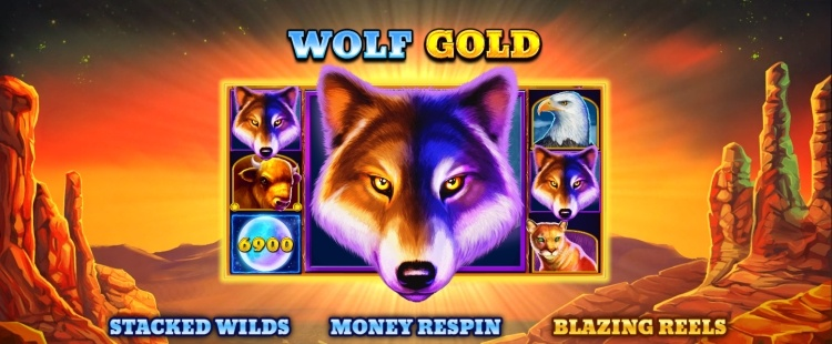 Play Wolf Gold at Betchan Casino