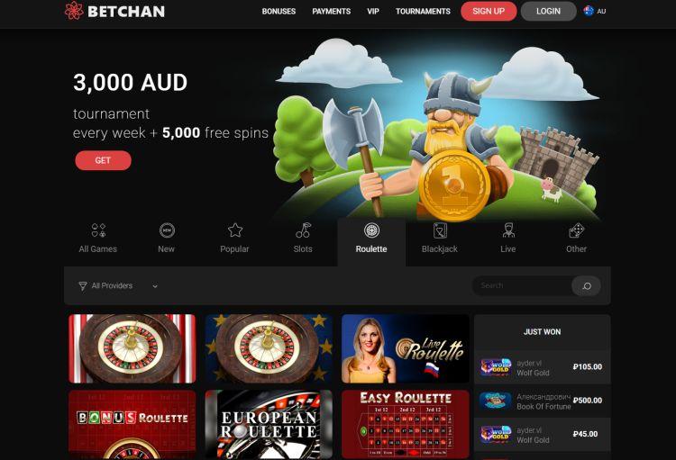 betchan casino australian players
