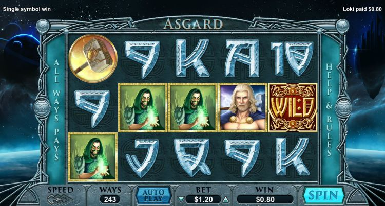 Asgard pokie review