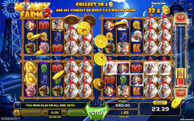 Money Farm 2 pokie review