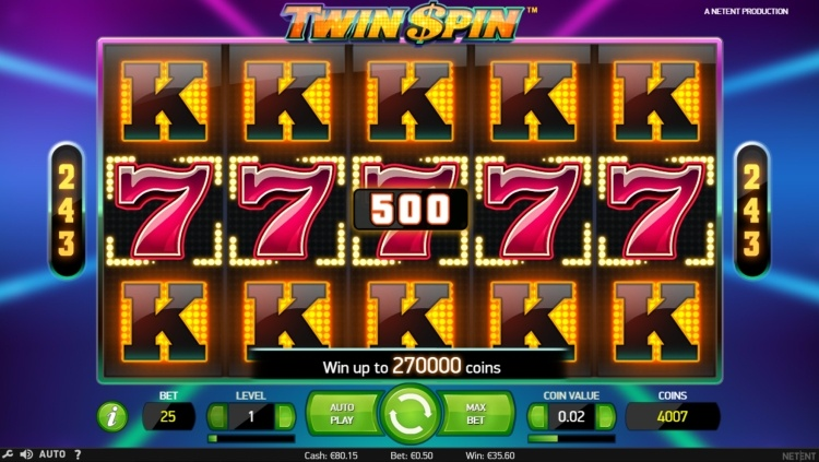 twin spin netent slot review