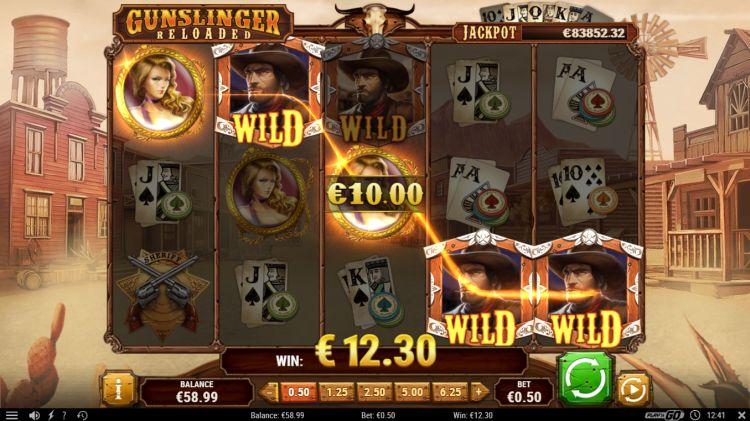 Gunslinger reloaded slot play'n GO big win