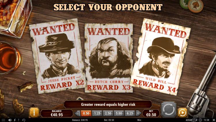 Gunslinger reloaded slot play'n go bonus