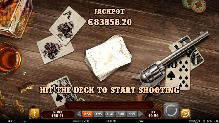 Gunslinger reloaded slot play'n GO jackpot game