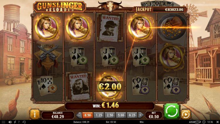 Gunslinger reloaded slot play'n GO