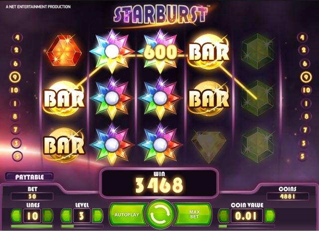 starburst slot most popular