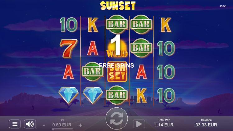 Sunset slot review bonus