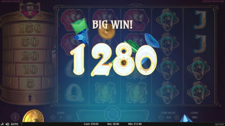 Turn your fortune slot review big win