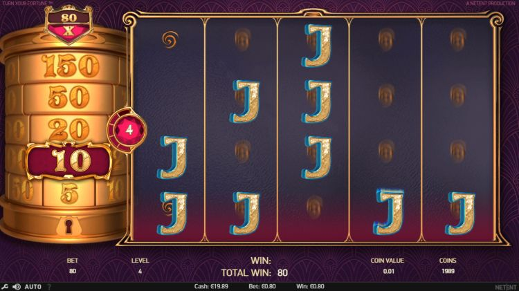 Turn your fortune slot review netent bonus